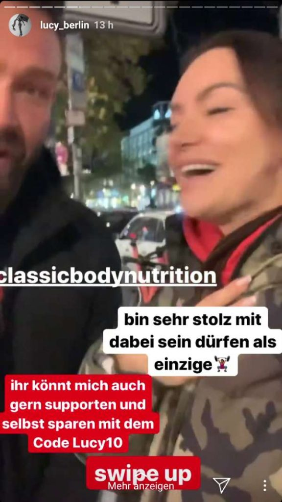 lucy_berlin mit Tobias Rothe Instagram Story
