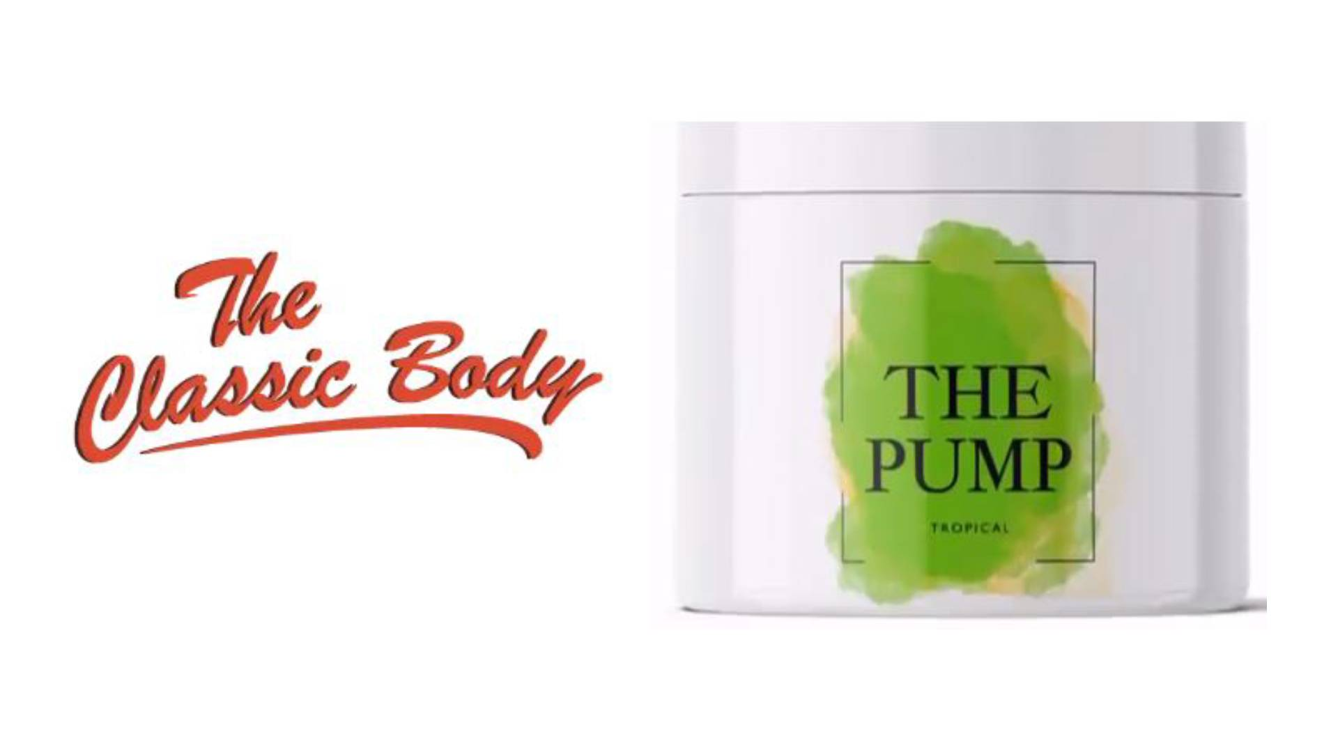 THE PUMP Booster Classic Body Nutrition