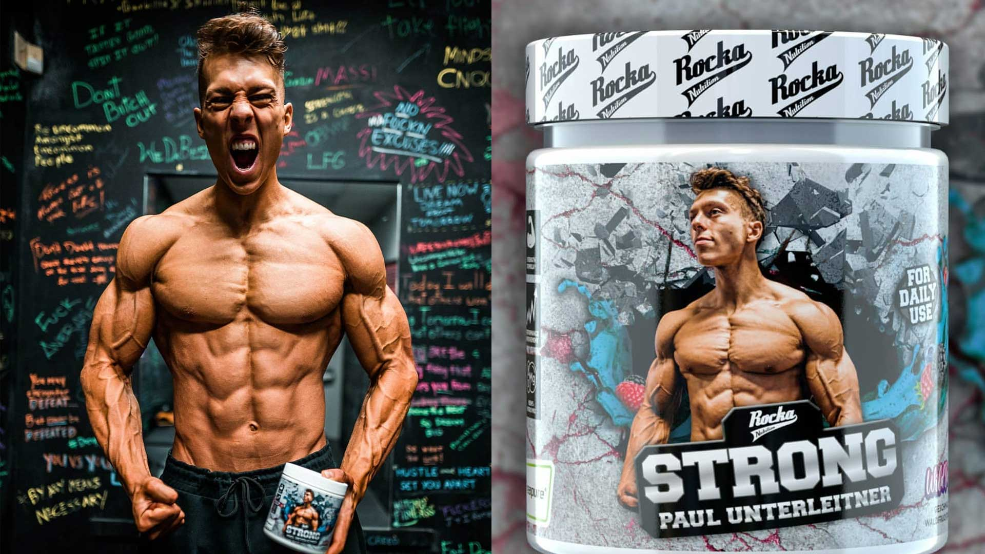 STRONG Rocka Nutrition Paul Unterleitner