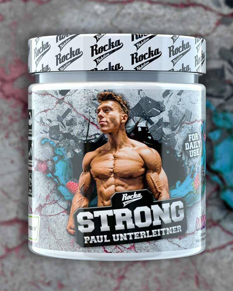 Rocka Nutrition STRONG von Paul Unterleitner