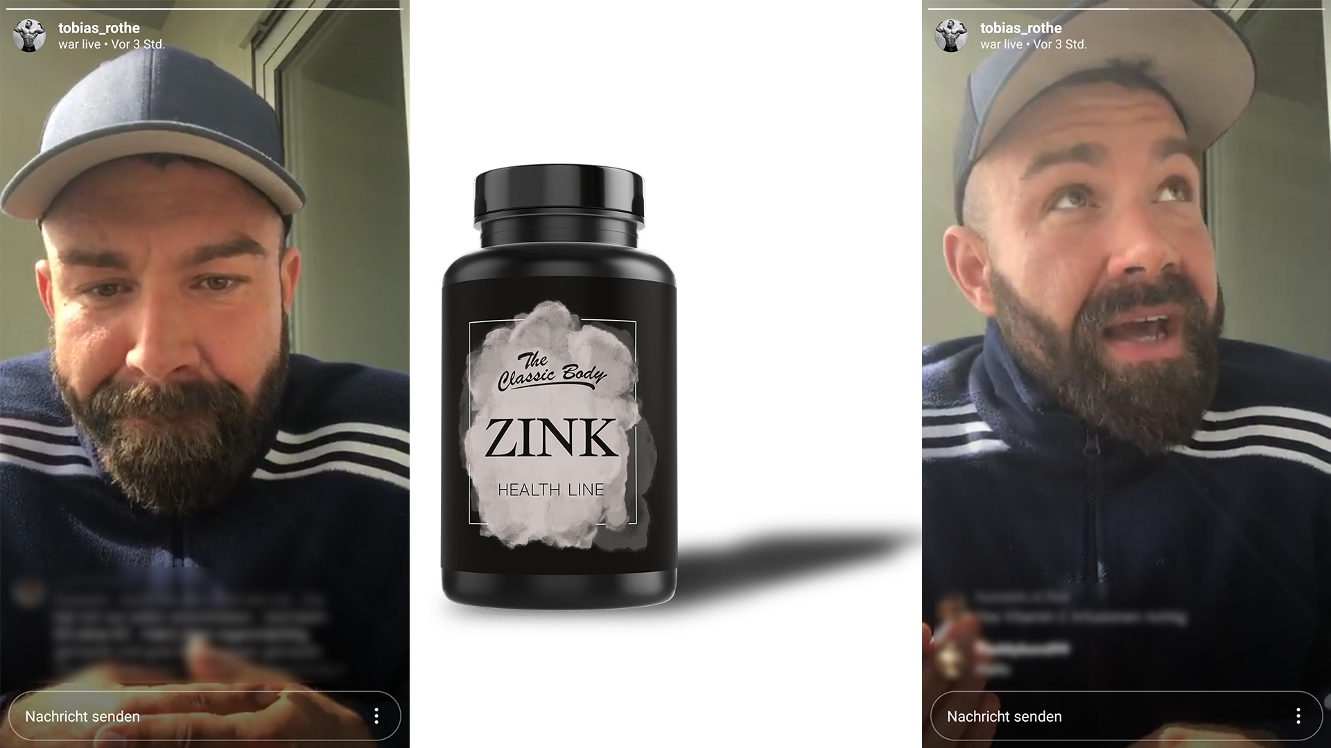 Zink Classic Body Nutrition